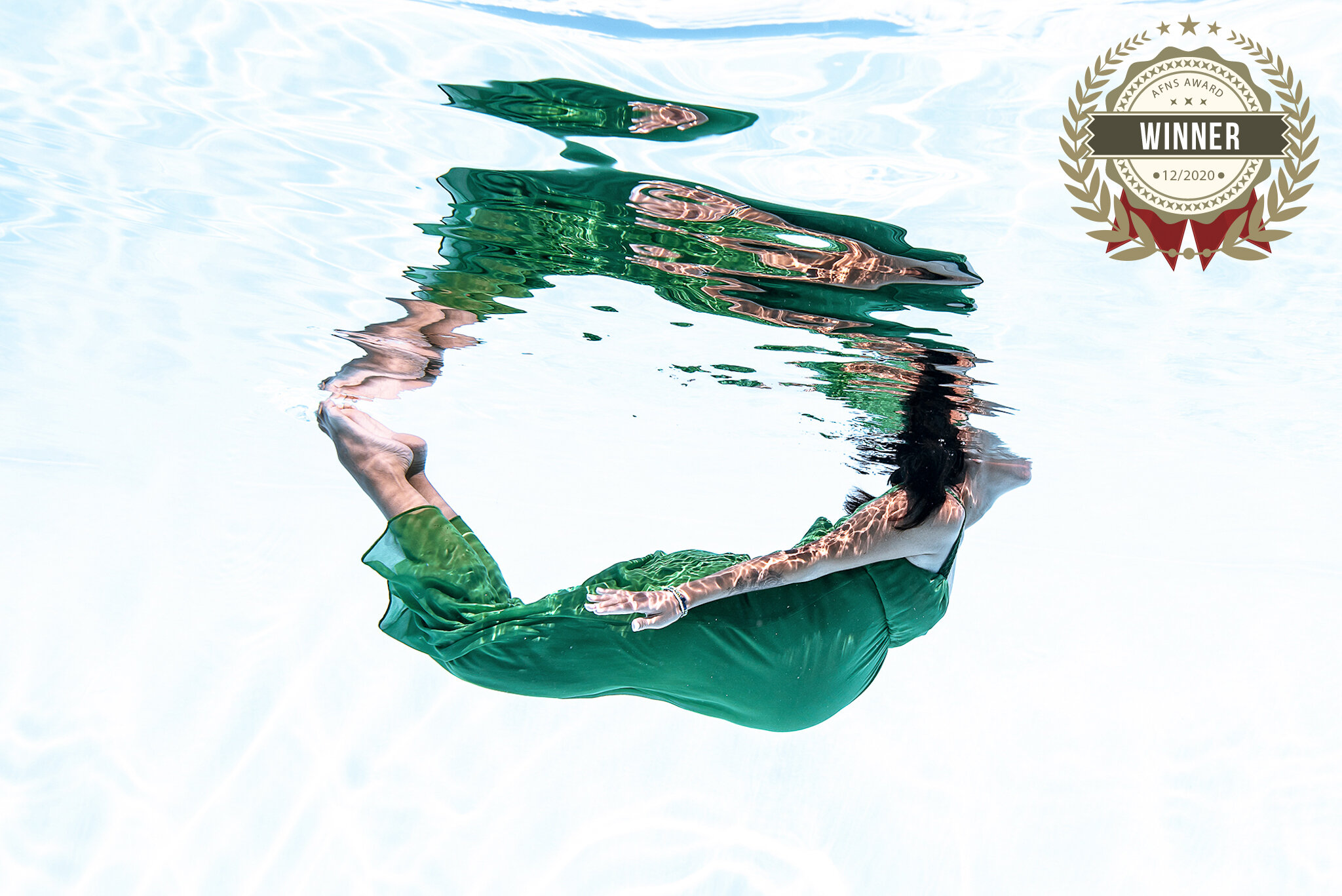 underwater grossesse chambery